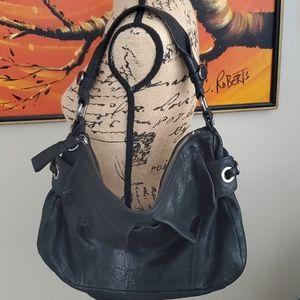 Kenneth Cole leather slouchy boho purse